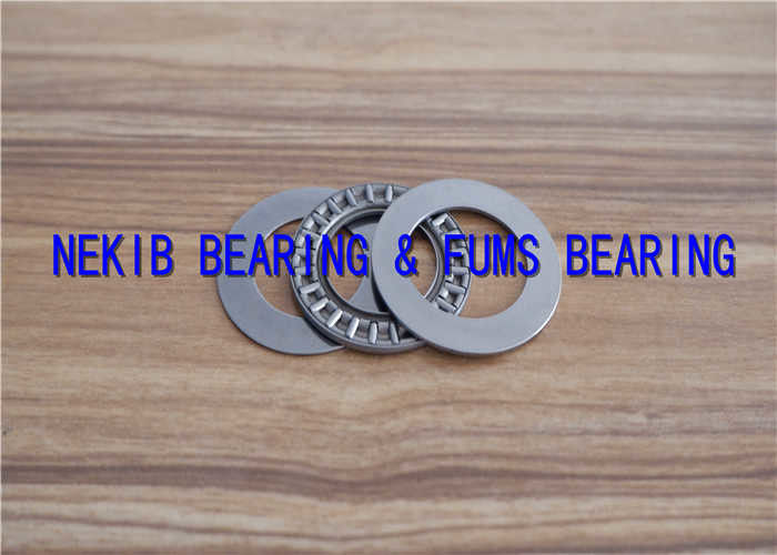 Quenched And Polished Roller Thrust Bearing AXK1024 AXK1226 With Good Rigidity